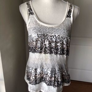 6/$25 🦊 EXPRESS Sequin Women's Tank Top